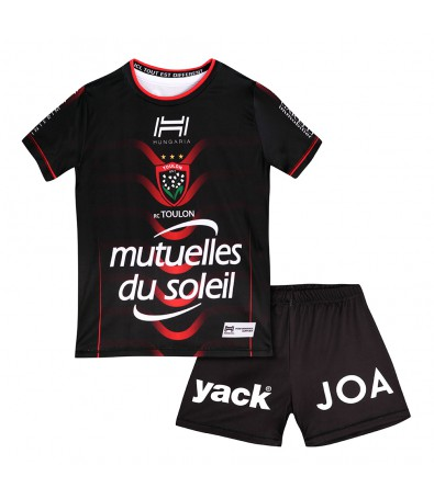KIT REPLICA JUNIOR DOMICILE RUGBY CLUB TOULONNAIS 2018/2019