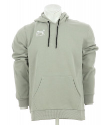 BAS-HOODED SWEA FLINT GREY